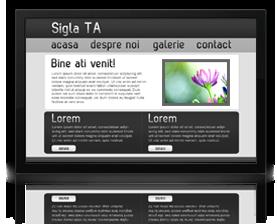 Pachet webdesign simplu de prezentare