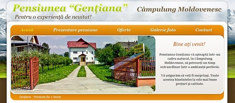 Gentiana-pensiune